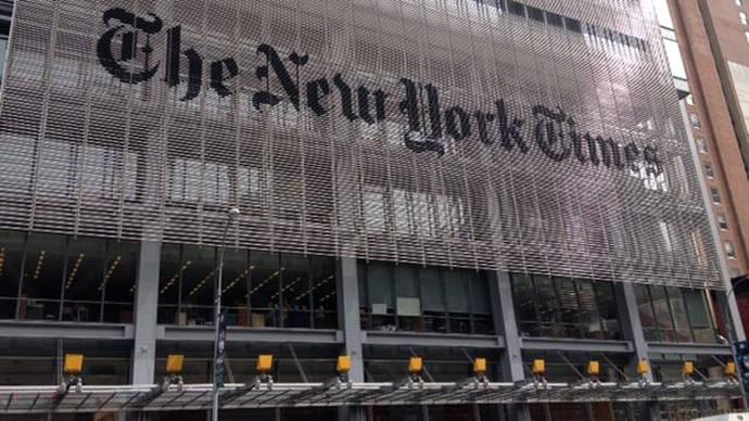 El New York Times, en guerra contra Donald Trump