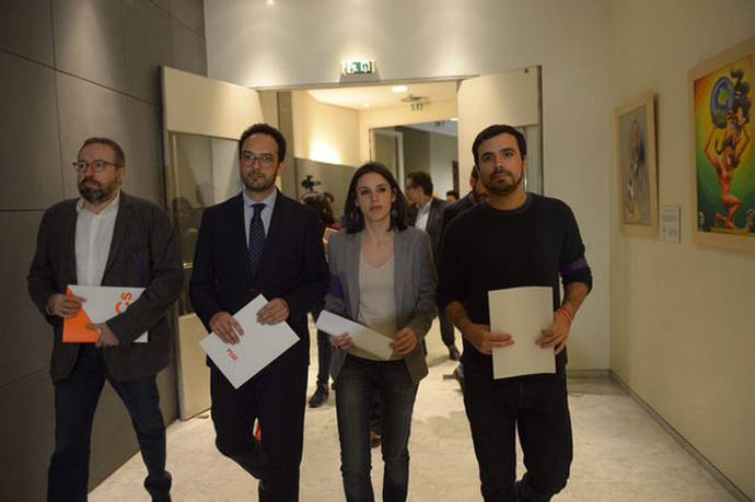 PSOE, Unidos Podemos y Ciudadanos impulsan la comisión de investigación sobre financiación del PP