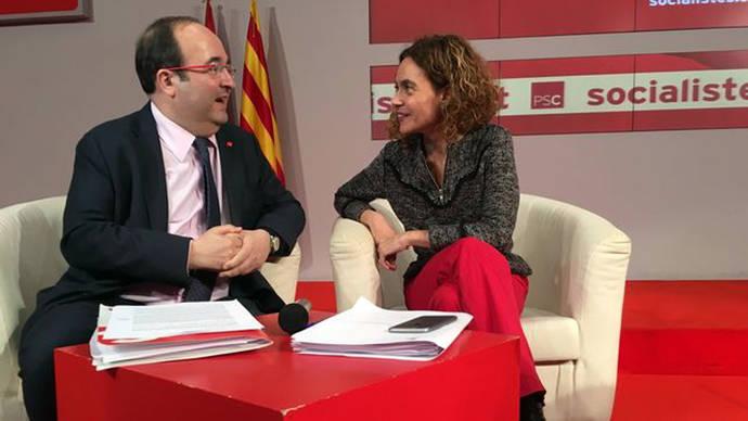 El PSC vuelve a la dirección socialista en el Parlamento tras resolver la crisis con el PSOE