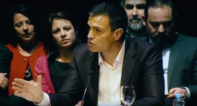 El avance y el discurso de Pedro Sánchez causan nervios en el sector oficial del PSOE