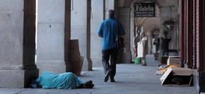 En Madrid viven 2.217 personas sin hogar
