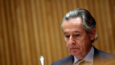 Miguel Blesa se niega a declarar en la comisión sobre la corrupción de la Comunidad de Madrid