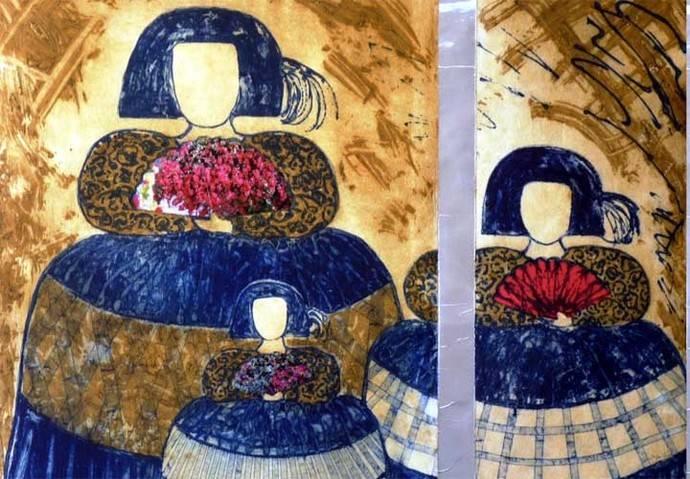 La obra de la pintora Sofía Reina en el Centro Cultural Nicolás Salmerón