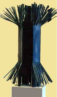 Pilar de la Vega expone su obra de arte en la Galería Orfila
