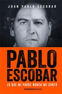 """Juan Pablo Escobar, autor del libro """"Lo que mi padre nunca me contó"""", publicado por Península"""