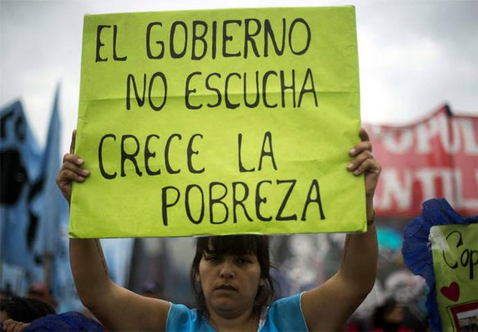 Argentina, bloqueada por protestas sociales