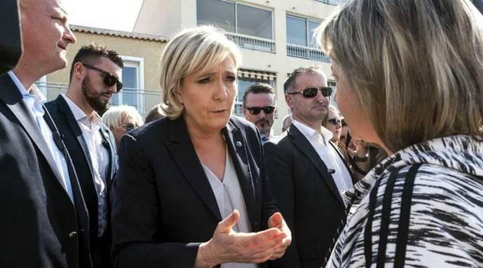 Le Pen no está decepcionada por los resultados de los comicios en Holanda