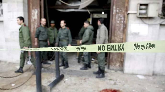 16 abogados muertos en explosión en Damasco