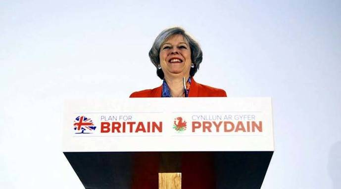 May acusa al Partido Nacionalista Escocés de un nacionalismo divisorio