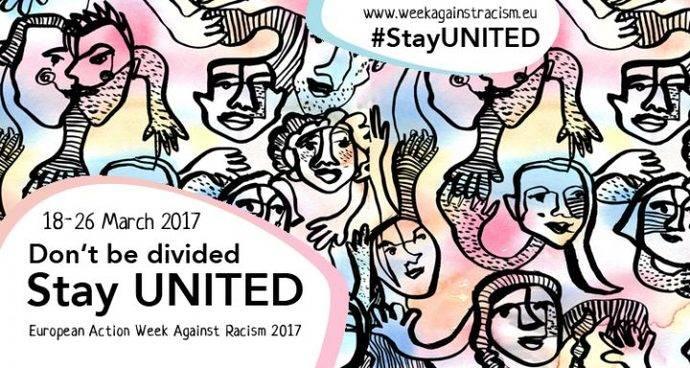 ¡No se dividan, permanezcan UNIDOS! Semana Europea de Acción en contra del Racismo 2017
