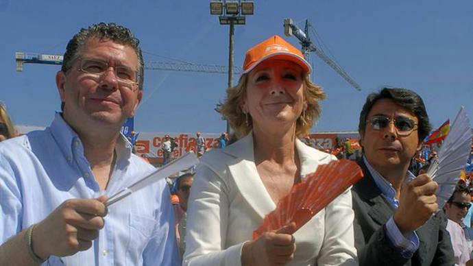 Granados señala a Esperanza Aguirre ante el juez de Púnica y pide que la llame a declarar