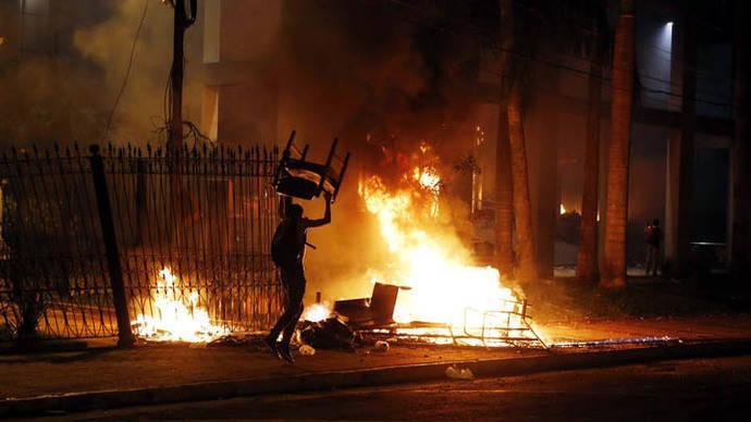 Presidente paraguayo insta a la calma tras incendio en sede del Congreso