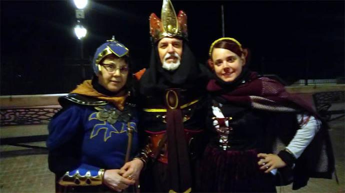 Recreación histórica medieval de la muerte de Pedro I e Castilla