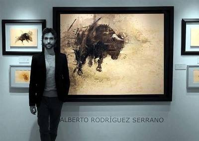 Alberto Rodríguez Serrano, Éxito internacional de una pintura singular y diferente