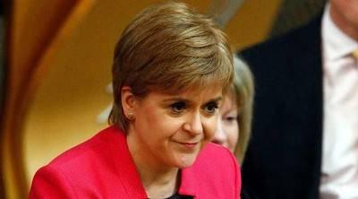 La nacionalista escocesa Nicola Sturgeon