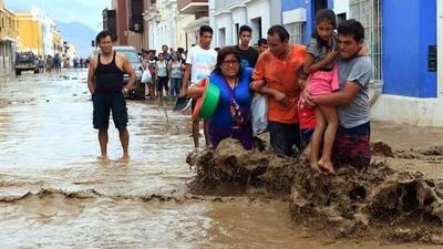 Autoridades peruanas alertan que esta semana aumentarán las lluvias