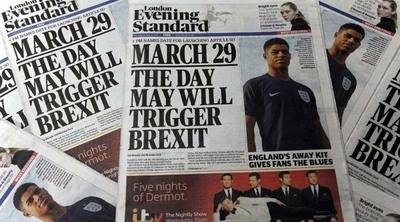 Pasos a seguir por el Reino Unido para salir de la Unión Europea