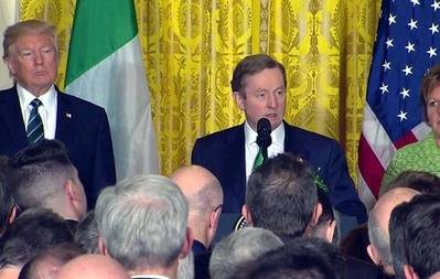 Irish leader's challenge to Trump on immigrants goes viral with 30 million views
