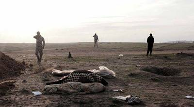 Una fosa común cerca de Mosul puede superar el millón de cadáveres