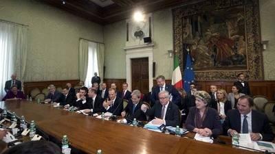 Papa se reúne con los líderes de la Unión Europea