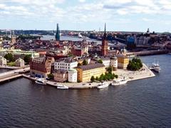 Una imponente vista de Estocolmo