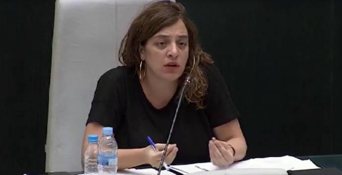 La concejal de Ahora Madrid Celia Mayer, en una foto de archivo