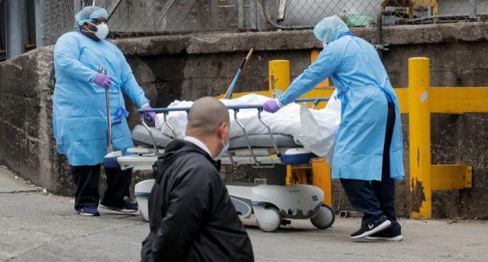 Estados Unidos superó a China en número de muertos por coronavirus
