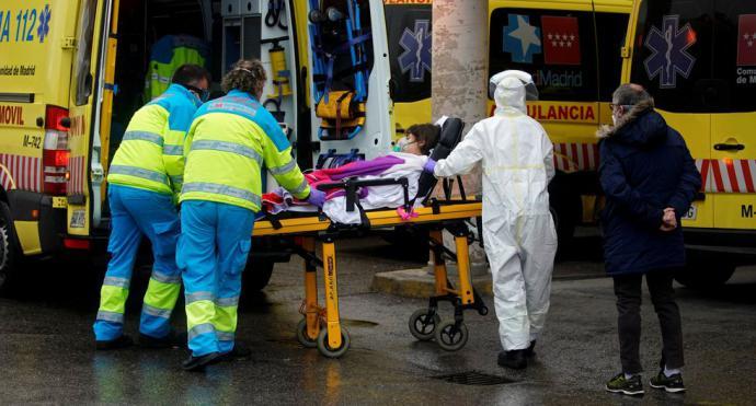 España suma 849 muertos por coronavirus en un día, la peor cifra desde que empezó la crisis