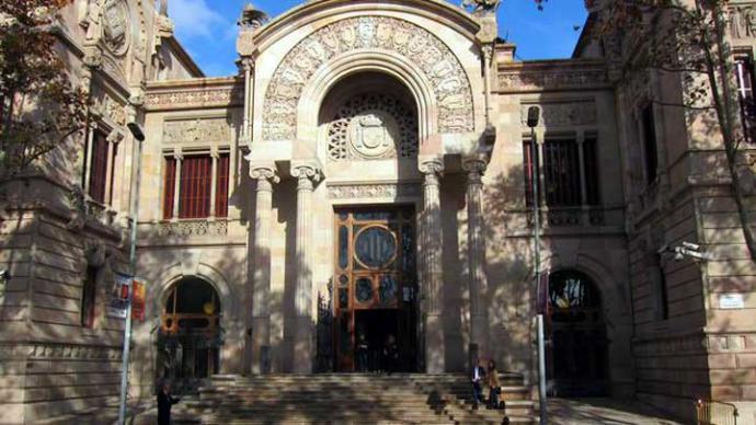 Palacio de Justicia de Barcelona, sede del TSJC