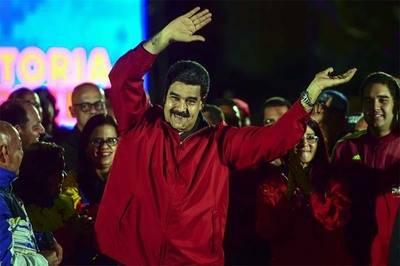 Maduro, el presidente sancionado