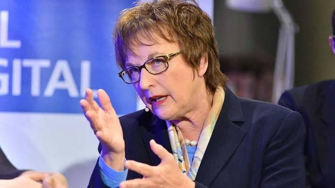 La ministra de Economía alemana, Brigitte Zypries