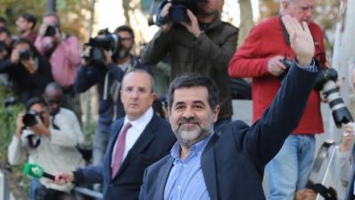 Jordi Sànchez, a la entrada del Supremo.