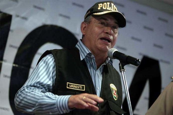 El exministro del Interior peruano Daniel Urresti