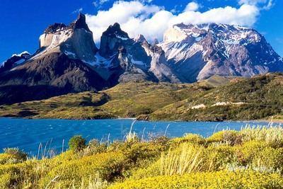 Parque nacional Torres del Paine,en la Patagonia chilena