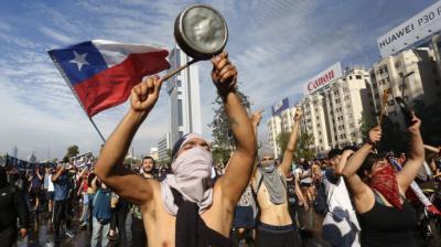 """El """"estallido social"""" de octubre 19 se debió al descontento de las capas medias chilenas..."""