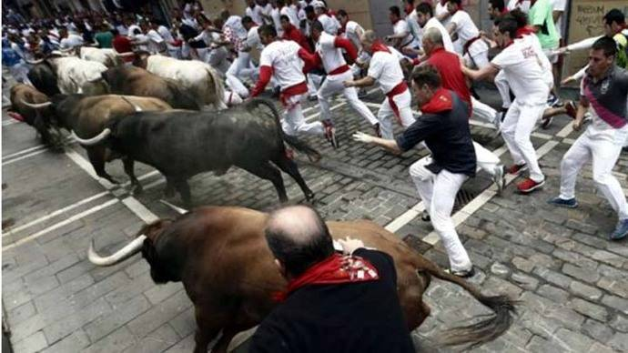 Sanfermines de Pamplona contarán este año con seguridad de 3.500 agentes
