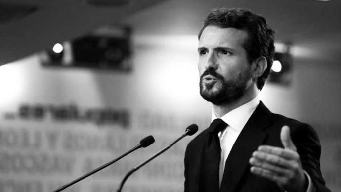 Pablo Casado, pdte. del PP