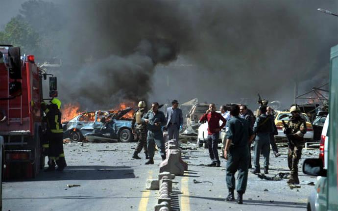 Al menos 90 muertos y 464 heridos por atentado en Kabul