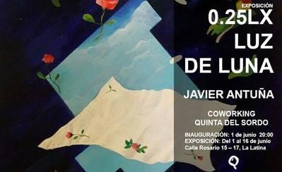 """Javier Antuña expone """"0.25 lx Luz de Luna"""" en la Quinta del sordo de Madrid"""