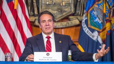 El poderoso gobernador del estado de Nueva York, Andrew Cuomo