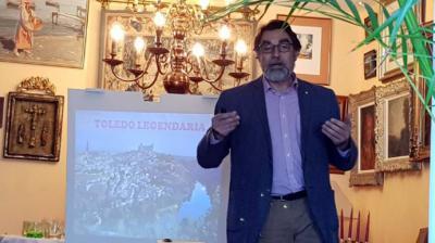 """Rogelio Sánchez Molero: Conferencia sobre """"Toledo legendario"""" en la Tertulia Ilustrada"""
