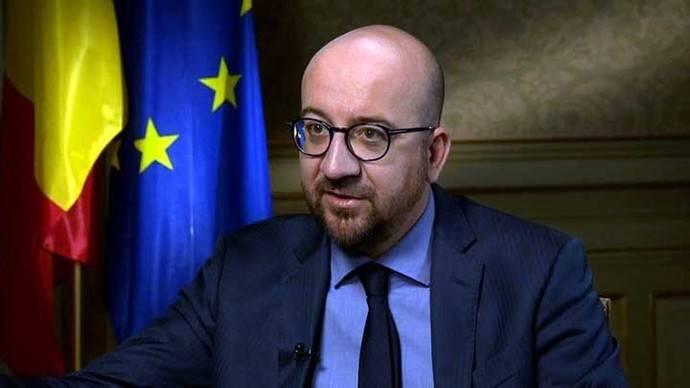 El primer ministro belga, Charles Michel