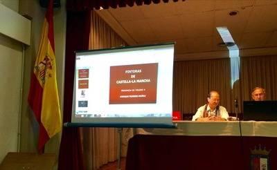 """Enrique Pedrero Muñoz impartió la conferencia """"Las Pintoras de Toledo"""