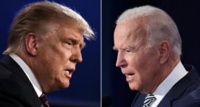 Trump y Biden frente a frente