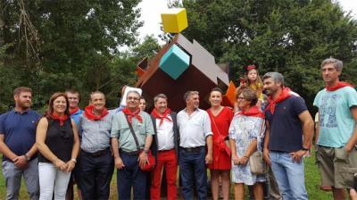 """Cabezón de la Sal: Ontoria acogió el """"Encuentro de hermanamiento de pueblos con el nombre de Hontoria"""""""
