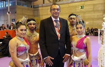 Sajith Wijenayake, Director General de Aitken Spence Travel