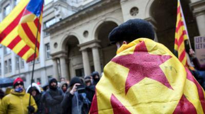 Puigdemont insiste en que 'no hay retorno posible' a la antigua CataluñalA cR