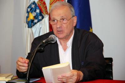 """Antonio Domínguez Rey, autor del libro """"El drama del lenguaje"""""""