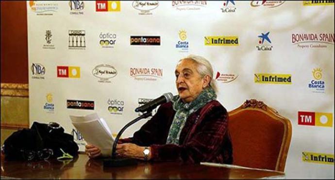 """Pepa Miranda, autora del poemario """"Ahora, con otro tiempo"""""""