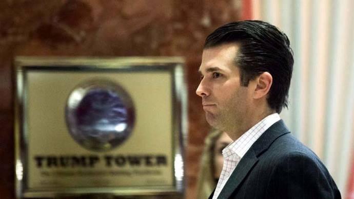Trump dictó un comunicado falso sobre la reunión de su hijo y abogada rusa